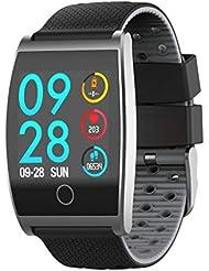 Fitness Tracker Smart Sports Pulsera Frecuencia CardíAca PresióN Arterial Medidor De OxíGeno Paso Reloj Inteligente Resistente