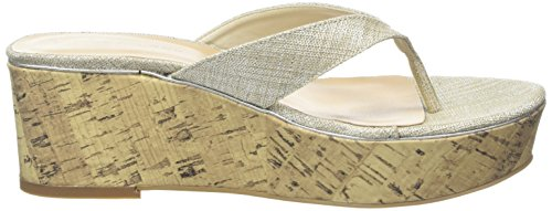 New Look Prolong, Sandales Femme Argent - Silver (92/Silver)