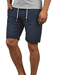 Blend Lias Pantalón Corto Shorts De Lino Bermuda Regular-Fit