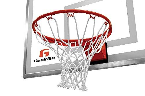 Goalrilla Pro-Style Breakaway Medium Weight Basketball Hoop Flex Rim - Passend für alle Goaliath und Silverback Systeme