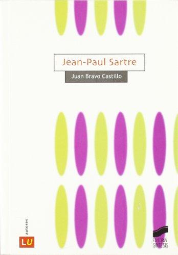 Jean-Paul Sartre por Juan Bravo Castillo