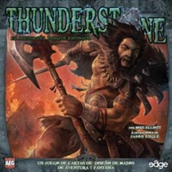 Edge Entertainment- Thunderstone: el asedio del Bosque espinado - español, Color (EDGTS05)