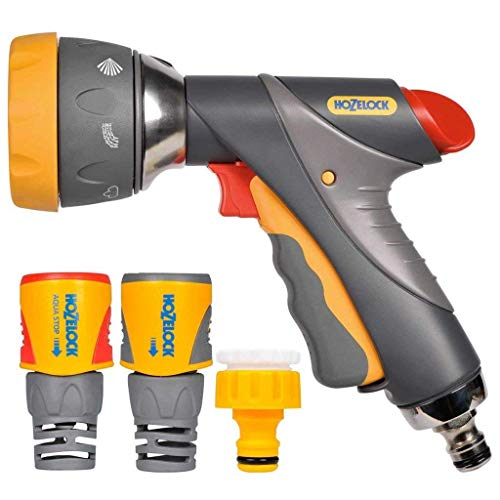 Hozelock Kit Pistolet Multi Spray raccords Plus 15mm, Estándar