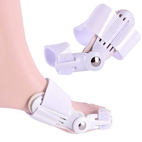 1 Paare große Fuß Knochen Daumen Valgus Korrektor männliche und weibliche Kinder Erwachsene Tag und Nacht tragbare Schuhe Zehen biegen Separator -