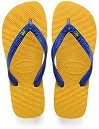 763f197e734d Amazon.co.uk  Yellow - Flip Flops   Thongs   Men s Shoes  Shoes   Bags