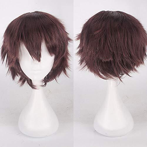 TianWlio Perücken DamenMulti Color Short Glattes Haar Perücke Anime Party Cosplay Volle Verkauf Perücken 35cm
