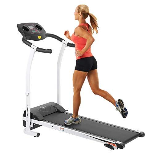 YESPER Profi Elektrisches Laufband Heimtrainer Runner Fitnessgerät Hometrainer Lauftraining mit LCD Display (126 * 59 * 109cm)