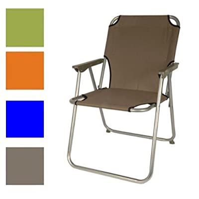 Klappstuhl Strandstuhl Picknick-Stuhl Gartenstuhl Camping-Stuhl klappbar Bezug blau