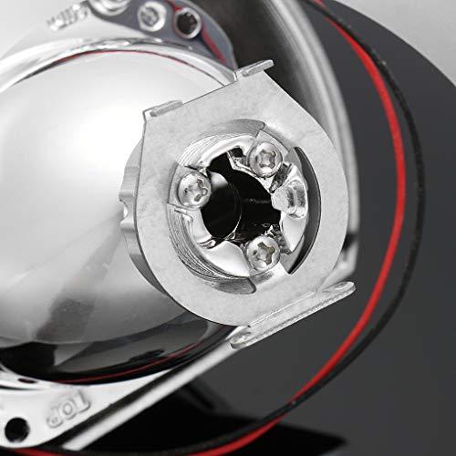 1 par de 2,5 Pulgadas Bi-xenón HID H1 Faros Lente del proyector reequipamiento Hola reemplazo/de luz de Cruce para BMW E46