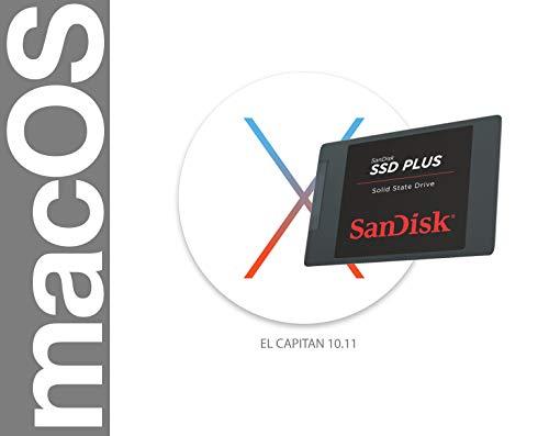 Clé USB bootable, support d'installation, support de récupération pour Mac  OS Apple High Sierra EL Capitan Yosemite 16GB El Capitan 10 11