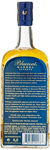 Bluecoat Barrel Reserve Dry Gin