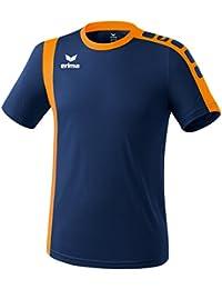 erima Trikot Zamora - Camiseta de fútbol, Color Azul, Talla XL