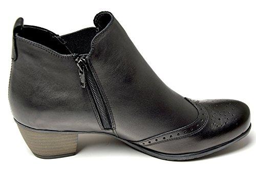 Remonte R9187-01 Damen Chelsea Boots schwarz Schwarz