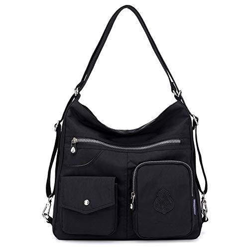 Designer Handtasche Nylon (Outreo Kuriertasche Damen Schultertasche Umhängetasche Handtasche Designer Strandtasche Wasserdichte Messenger Bag Rucksäcke Sporttasche Taschen für Mädchen Reisetasche Nylon)