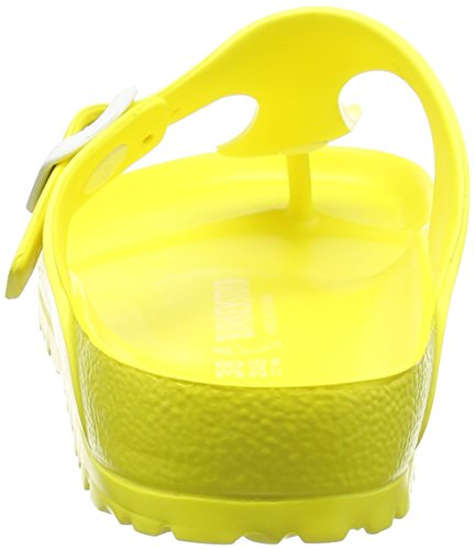 Birkenstock Classic GIZEH EVA Damen Zehentrenner Gelb (Neon Yellow)