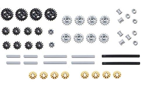 LEGO 50pc Technic gear & axle SET by LEGO