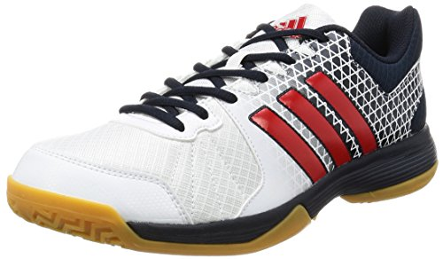 adidas Ligra 4 - Chaussures de Volley-Ball pour Homme, Blanc, Taille: 42