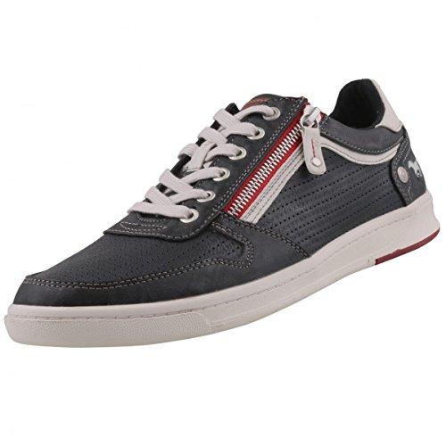 Herren Sneaker MUSTANG 4098-309-259 gris graphite 41 42 43 44 45 46 grau