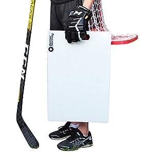 Better Hockey Extreme Sauce Launch Pad – Größe 60 x 40 cm – Perfekt für Flipp-Pässe und Hinterhofspiele – Simuliert das Gefühl von echtem EIS – Made in Canada