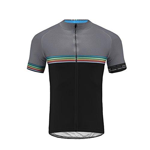 Uglyfrog Designs Bike Wear July Actualización Hombre Ciclismo Manga Corta Jersey Bicicleta Camisetas Ciclismo Racing Team Camisetas
