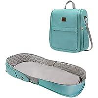 jinclonder - Bolsa de momia plegable, mochila multifuncional, para la cama de la madre y el bolso del bebé, para el hombro, la madre y el bebé, mochila para el bebé