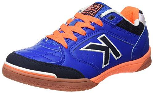 Kelme Unisex-Erwachsene 55770 Futsal Schuhe, Blau (Electric Blue), 46 EU