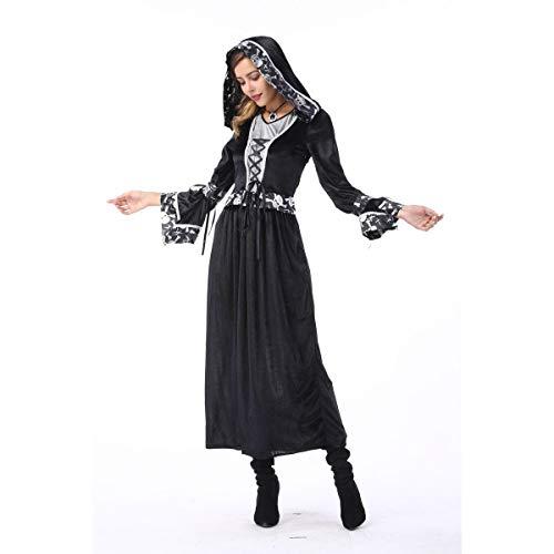 Kostüm Lady Death - WANLN Halloween Cosplay Death Vampire Kostüm für Paare,Women,M