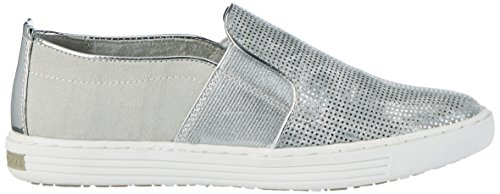 Marco Tozzi Cool Club 44200, Mocassins Fille Argent (Silver Comb 948)