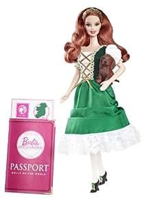 Mattel Barbie W3440 - Collector Dolls of the World Irland, Sammlerpuppe