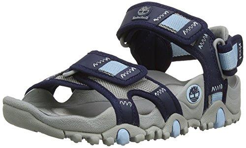 Timberland RG Trail Sandals_RG Trail Nekkol Sandal, Damen Knöchelriemchen Sandalen, Blau (Navy), 39 EU