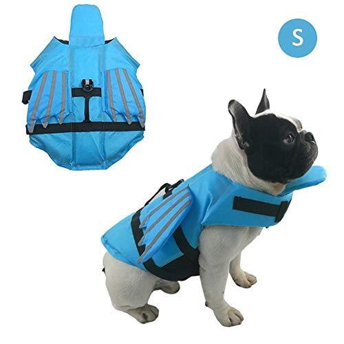 Enjoyyouselves Schwimmweste für Hunde Helle Farbe Ripstop Pet Floatation Vest Saver Badeanzug für die Sicherheit des Wassers am Pool, Strand, Bootfahren -