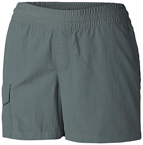 Columbia Women's Silver Ridge Pull On Short, Breathable, UPF 50 Sun Protection - Silver Womens Shorts