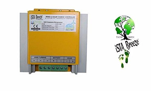 Hybridladeregler, iSTA-Breeze® (12-24 V), 800 W - für Windgenerator, Windturbine, Windrad, Photovoltaik-Anlagen, -#4010