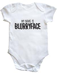 HippoWarehouse My name is blurryface (Mi nombre es Blurryface) body bodys pijama niños niñas unisex