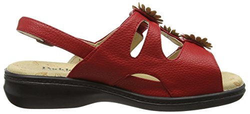 Padders Lily, Sandales femme Rouge - Rouge