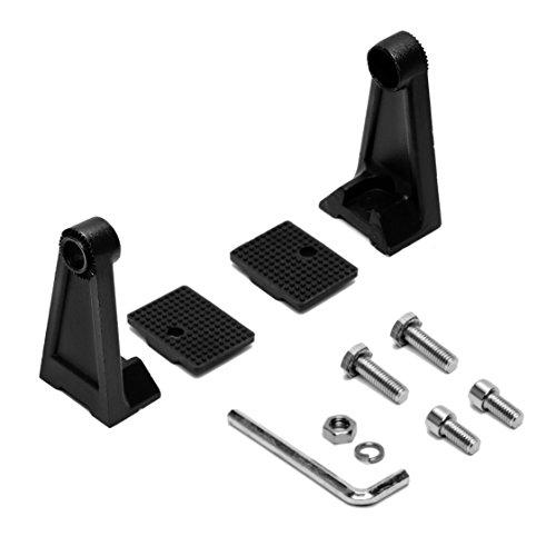 Elerose 2PCS Faro per moto laterale Staffa di montaggio per forcella anteriore per tubo forcella 35mm-41mm