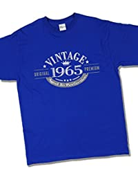 1965 Vintage Year - Aged to Perfection - 52 Ans Anniversaire T-Shirt pour Homme