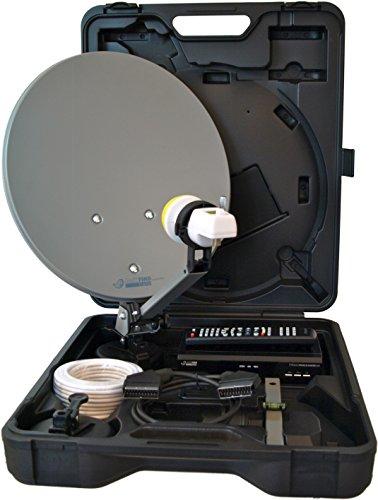 Micro digitale Camping Satellitenanlage M30/12 EasyFind (SCART, EasyFind, 230/12V) schwarz