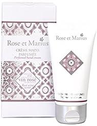 ROSE ET MARIUS Crème pour Main Parfumée Vin Rosé 50 ml