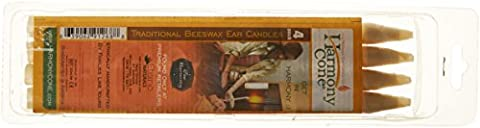 Harmony Cone Beeswax - Pack of 4