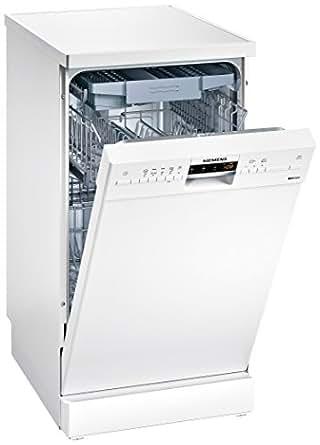 Siemens SR25M284EU Autonome 10places A+ lave-vaisselle - lave-vaisselles (Autonome, Blanc, Blanc, boutons, LED, 1,75 m)