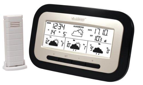 La Crosse Technology WD4006IT-B-SIL - Estación meteorológica