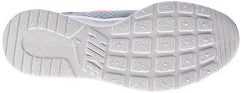 Nike Kaishi, Baskets Basses Femme, 16 EU Bleu (Blue Grey/Bright Mango-White)