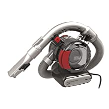 Black & Decker PD1200AV-XJ Black+Decker 12 V Flexi Auto Dustbuster, Grey/Red