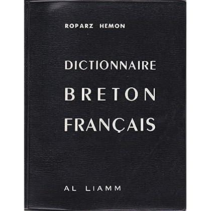 Nouveau dictionnaire breton-français
