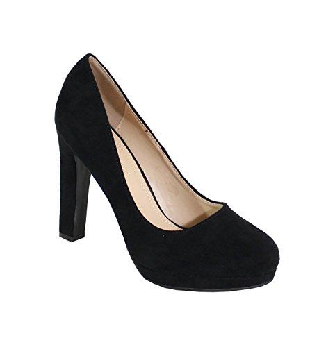 By Shoes - Escarpin Style Lolita et Daim - Femme
