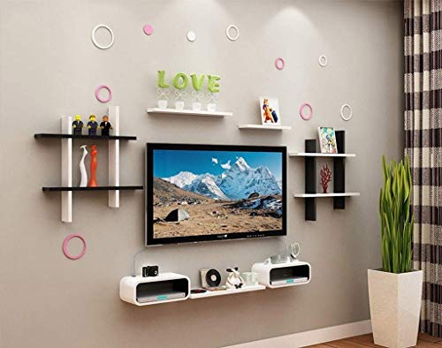 Mr. Cinsen Lagerregal Hintergrund Wanddekoration Frame Divider Wall Panel Bücherregal Modern Minimalist Wandregal Wohnzimmer TV