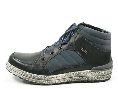 Josef Seibel Emil 01, Sneaker Alte Uomo Schwarz