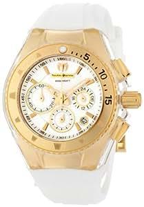 TechnoMarine 111005montre-bracelet pour femme, bracelet en caoutchouc blanc