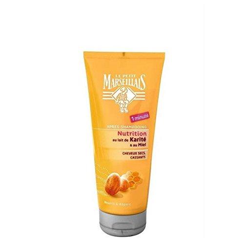 Le petit marseillais apres-shampooing cheveux secs karite/miel 200ml - ( Prix Unitaire ) - Envoi Rapide Et Soignée